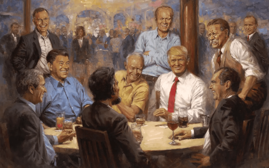 Have You Ever Noticed This Feminist Message In This Donald Trump Painting?